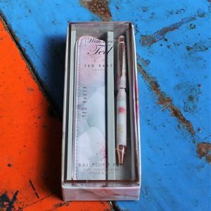 Ted Baker Ballpoint Pen with Touch Screen Stylus & Case