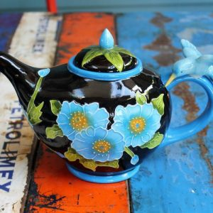 Teapot – Hummingbird Blue