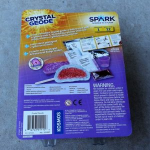 Crystal Geode Experiment Kit