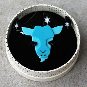 Erstwilder Brooch – Capricorn the Controlled