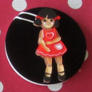 Erstwilder Brooch – Bendy Wendy