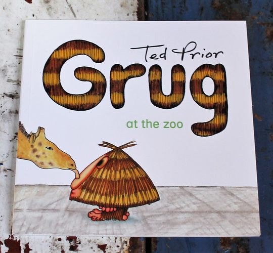 morpeth gift gallery hunter valley grug and the zoo book children's story ted prior 40th birthday anniversary 2019 australian character