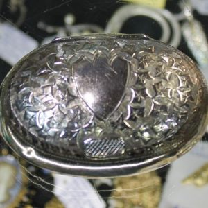 Silver Lidded Box