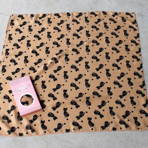 Erstwilder Scarf – Meow at Midnight