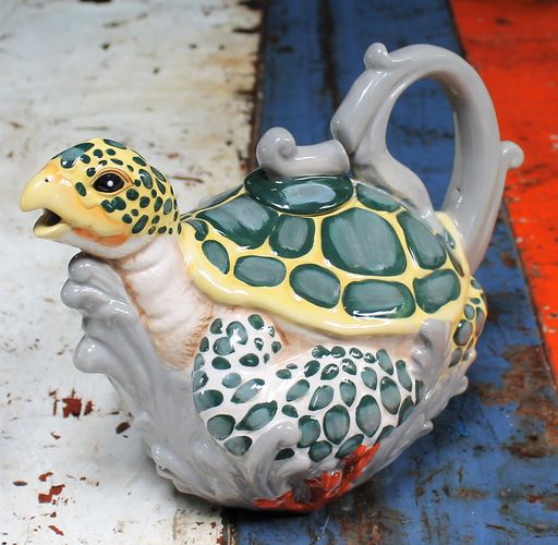 morpeth gift gallery hunter valley sea turtle novelty teapot collectable six cup