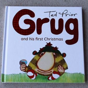 morpeth gift gallery ted prior grug and his first Christmas hard cover book edition