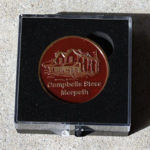 Morpeth Antique Centre Gift Medallion