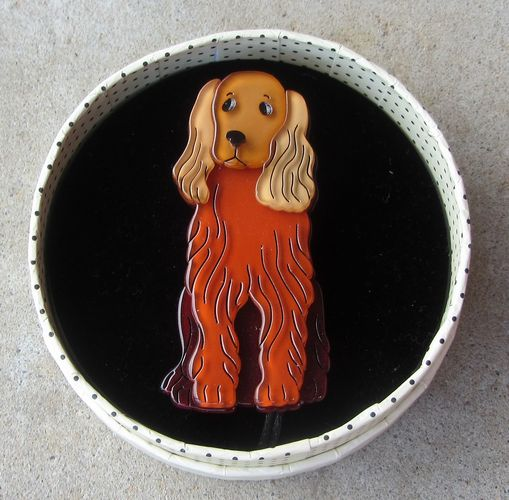 morpeth antique centre hunter valley erstwilder brooch puppy dog best in show retro pin up collectable