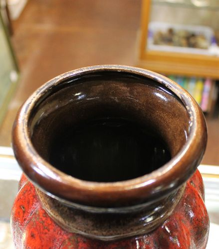 morpeth antique centre hunter valley west german pottery wgp 1950 scheurich bay carsten ceramics keramik pot vase fat lava