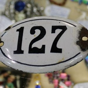 Enamelled Number 127