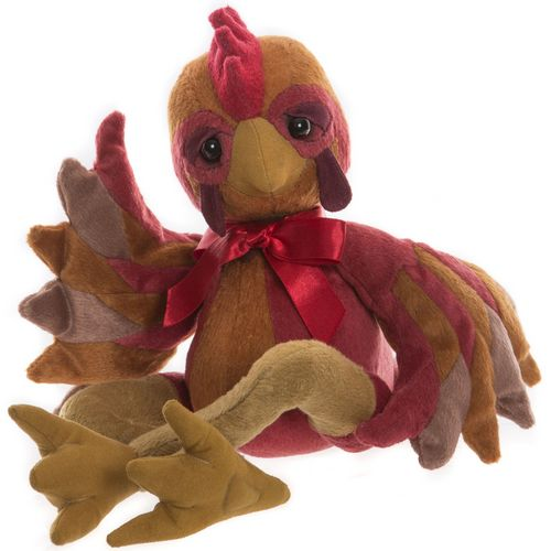 Morpeth Teddy Bears Charlie bears collectable plush 2019 Hunter Valley Li Red chook rooster hen