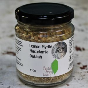 Dukkah with Lemon Myrtle & Macadamia