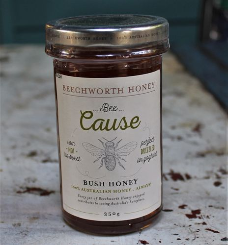 morpeth gourmet foods hunter valley gift 100% pure honey beechworth bee cause raw straight line