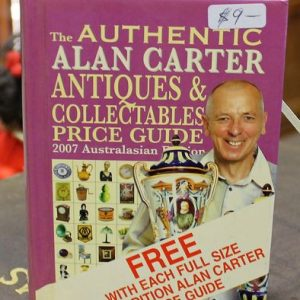 morpeth antique centre hunter valley alan carter pocket reference guide book hardcover purple edition 2007 collectables antiques
