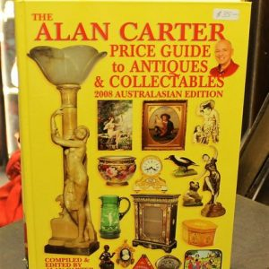 Alan Carter Price Guide – Yellow