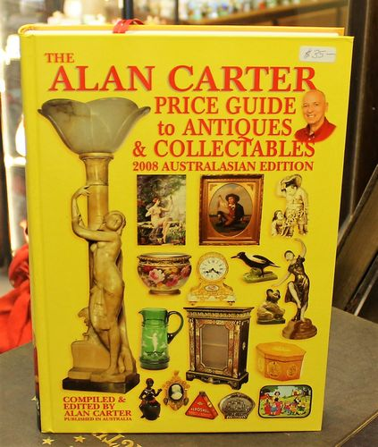 morpeth antique centre hunter valley alan carter reference guide book hardcover yellow edition 2008 collectables antiques