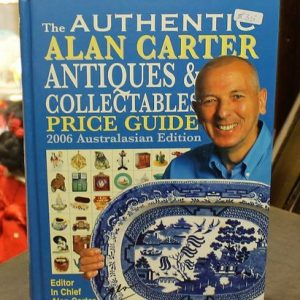 Alan Carter Price Guide – Blue