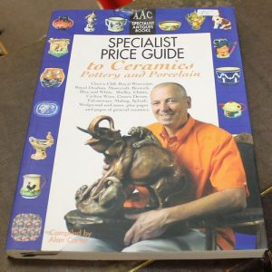 Specialist Price Guide for Ceramics, Pottery & Porcelain