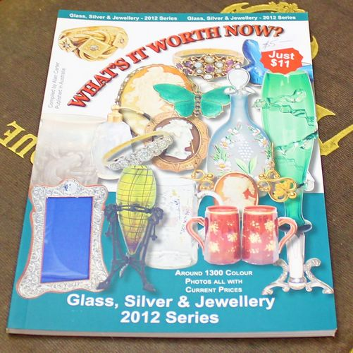 morpeth antique centre hunter valley alan carter reference guide book what's it worth now glass silver jewellery 2012 series edition