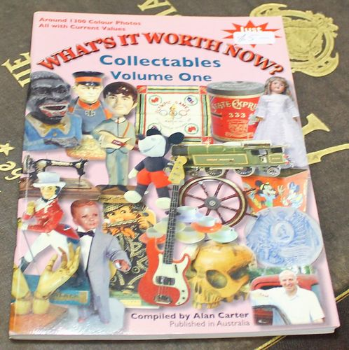 morpeth antique centre hunter valley alan carter reference guide book what's it worth now collectables volume one