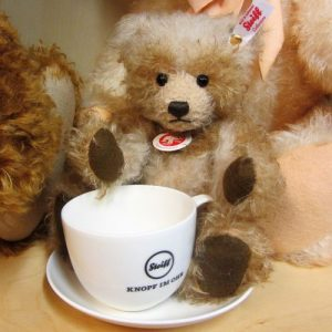 Benotime with Steiff Cup & Saucer