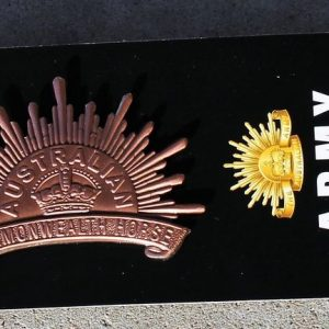 Rising Sun Hat Badge – 2nd edition 1902