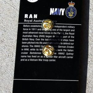 RAN Junior Sailor Hat Badge