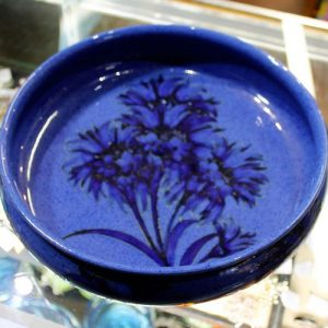 morpeth antique centre hunter valley walter william moorcroft bowl cornflowers vase english pottery ceramics