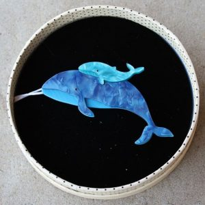 Erstwilder Brooch – Benevolent Behemoths Blue Whale
