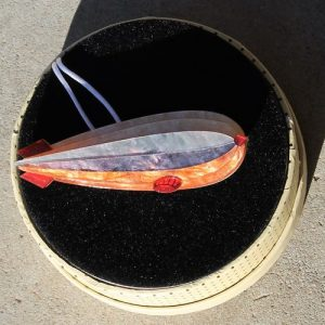Erstwilder Brooch – Dirigible Decor