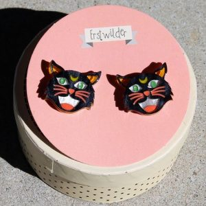 Erstwilder Earrings – Hex Kitten