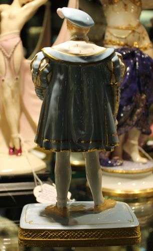 morpeth antique centre hunter valley shop 2 king edward VI figurine royal worcester pottery ceramics