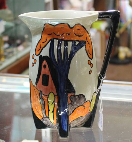 morpeth antique centre hunter valley shop 2 norma bailey jug clarice cliff style pottery ceramics
