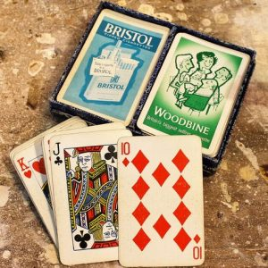 Cigarette Advertising Playing Cards