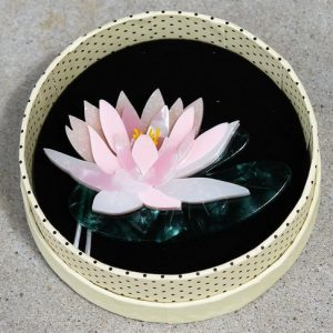 Erstwilder Brooch – Enlightened Waters (Lotus Lily)
