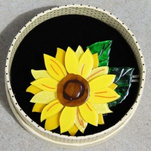 Erstwilder Brooch – Follow the Sun (Sunflower)