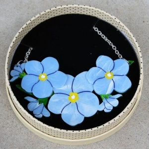 Erstwilder Necklace – Don't You Forget About Me (Forget Me Nots)