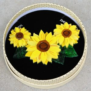 Erstwilder Necklace – Follow the Sun (Sunflower)