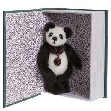 Morpeth Teddy bears Charlie Bear plush Snuggleability Book