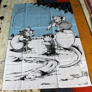 Tea Towel Pair – Blinky Bill Sky Blue