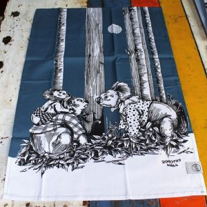 Tea Towel Pair – Blinky Bill Navy