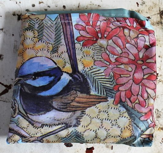 morpeth gift gallery hunter valley may gibbs snugglepot cuddlepie wren australian flora fauna birds reusable shopping bag