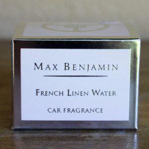 Car Fragrance – French Linen Water