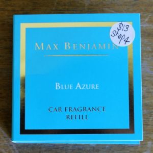 Car Fragrance Refill – Blue Azure