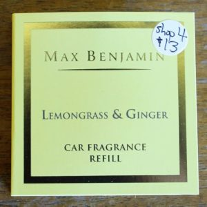 Car Fragrance Refill – Lemongrass & Ginger