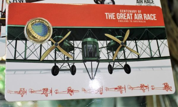 morpeth antique centre hunter valley mandscoinsandbanknotes centenary of the great air race coin set boxed eight one dollar 2019