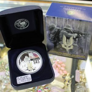 SAS 50th Anniversary Silver Proof Coin