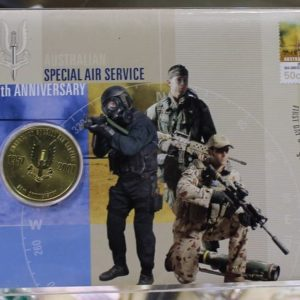 SAS 50th Anniversary $1 Coin