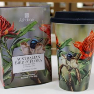 Travel Mug – Waratah & Wren
