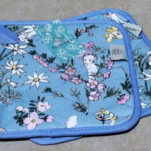 May Gibbs Pot Holder Pair – Flower Babies – Blue